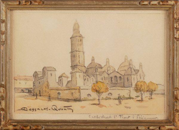 Dessales-Quentin - Cathedrale Saint Front Perigueux cadre