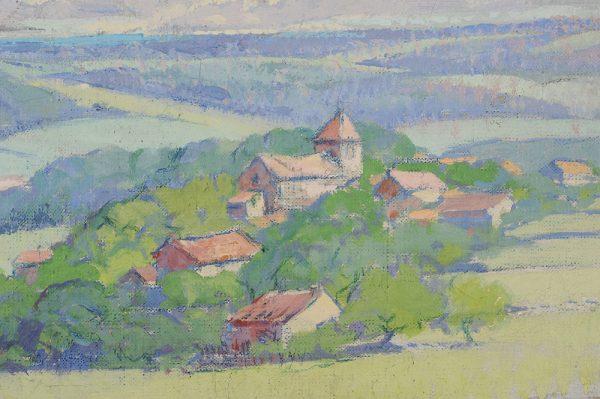 Jacques Bille - Saint Romain detail