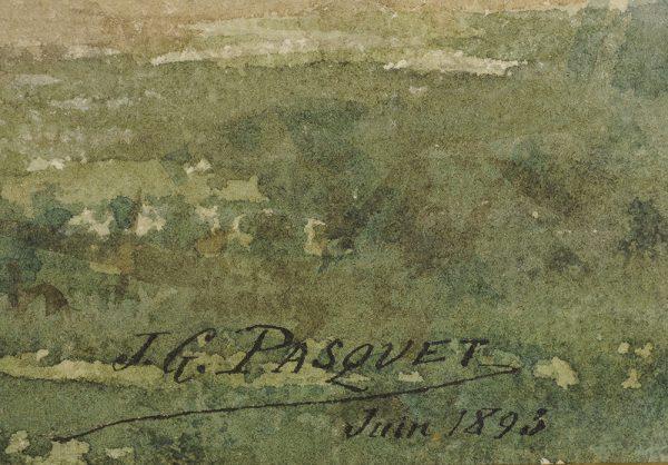 Jean-Georges Pasquet - Rognac signature