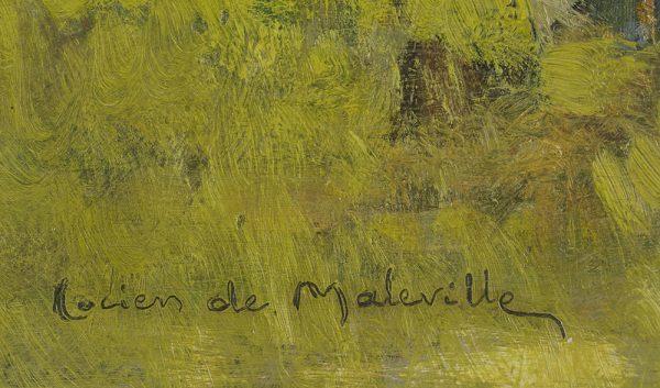 Lucien de Maleville - L'Isle signature