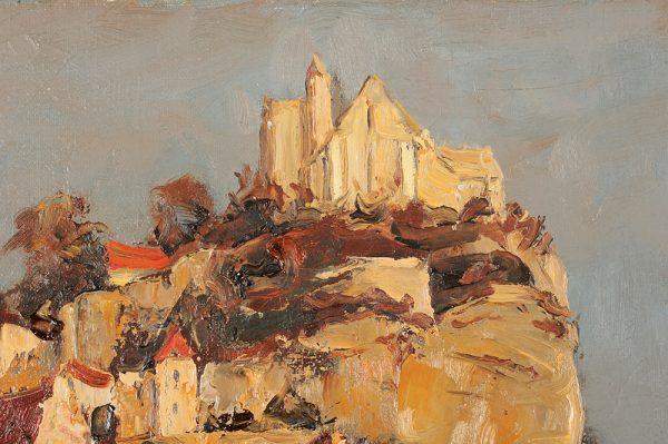 Marcel Azema-Billa - Beynac detail