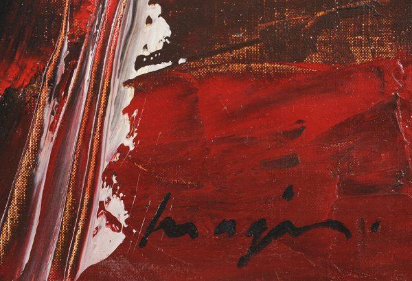 Pascal Magis - Sans titre 1999 signature
