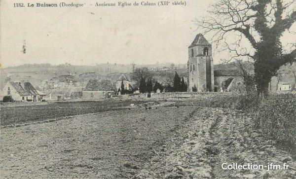 chaumont-eglise-de-cabans-buissons-cadouin-cpa