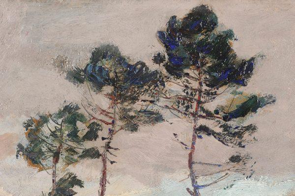 emile-chaumont-paysage-landes-pins